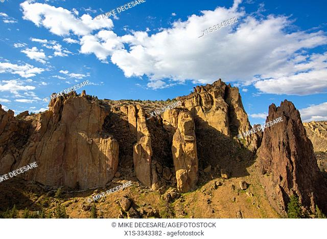 Smith Rock is considered one of the seven wonders of Oregon and is credited as a prime location where American rock climbing took hold