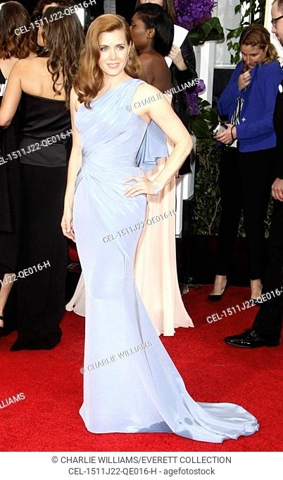 Amy Adams at arrivals for The 72nd Annual Golden Globe Awards 2015 - Part 3, The Beverly Hilton Hotel, Beverly Hills, CA January 11, 2015