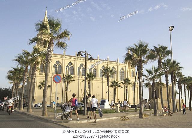 Monastery Regla Virgin church in Chipiona Cadiz province Spain