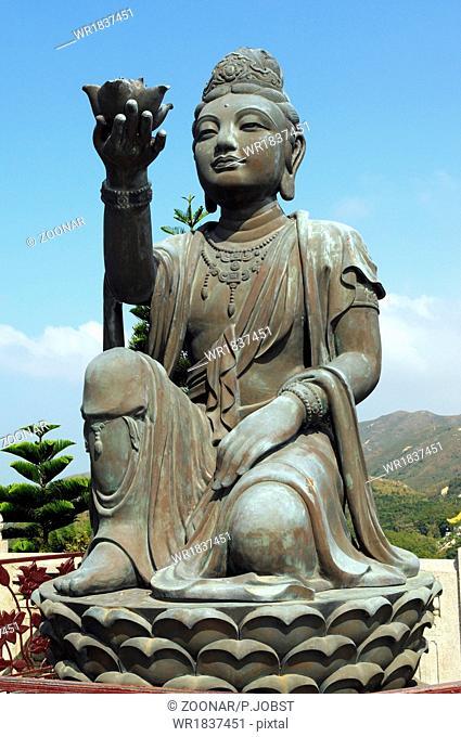 Po Lin-Kloster / Po Lin-Monastery