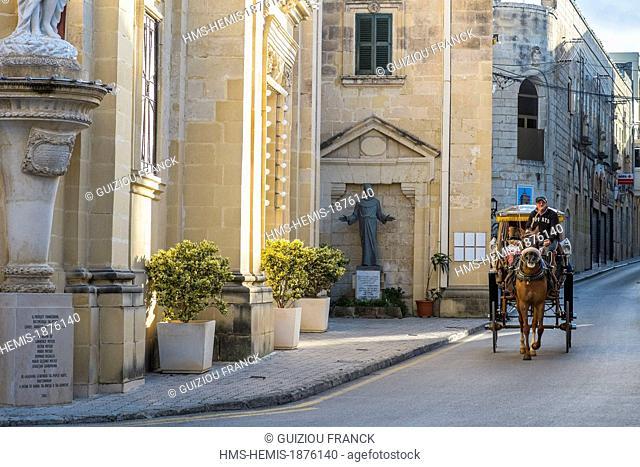 Malta, Rabat, carriage ride