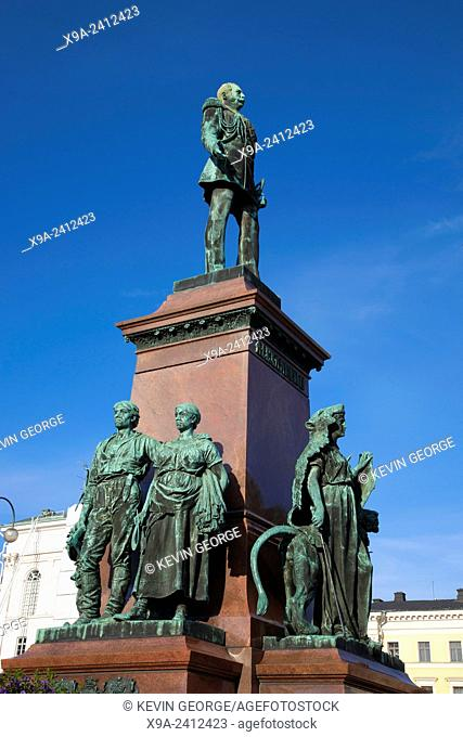 Alexander II Monument (1894), Senate Square, Helsinki, Finland