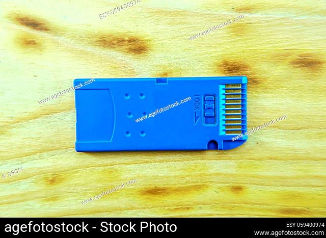 Memory stick is memory card type, present's gone