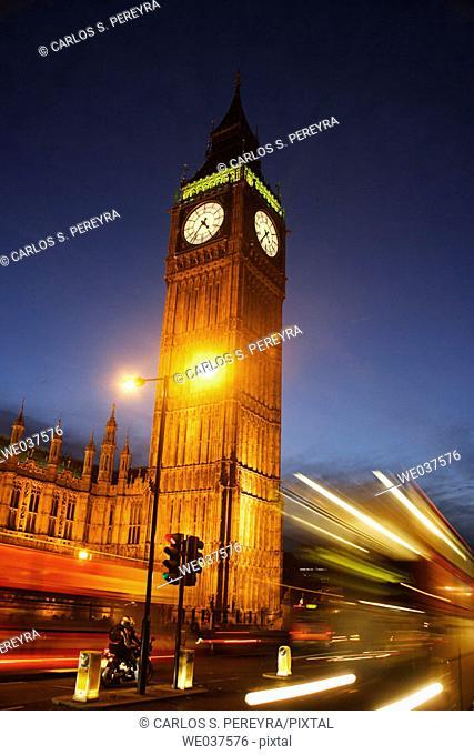 Big Ben, London, England. UK