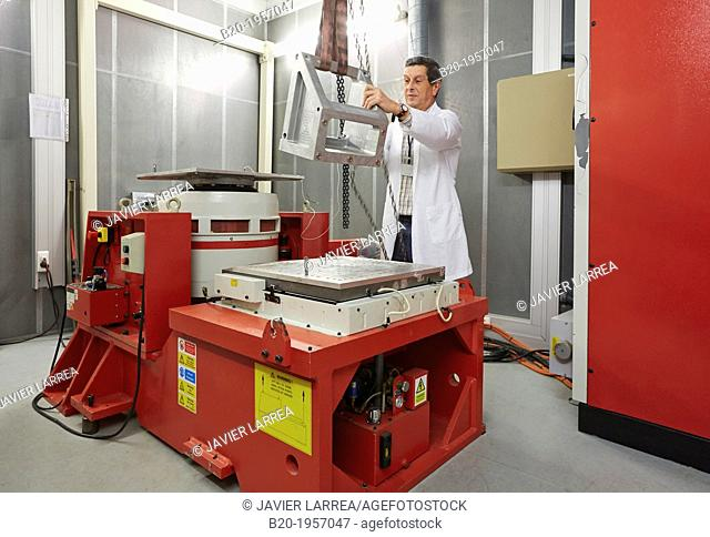Vibration Chamber Laboratory. EMC & Telecom Lab. Certification of Low Voltage Electrical & Electronic Products. Technological Services to Industry