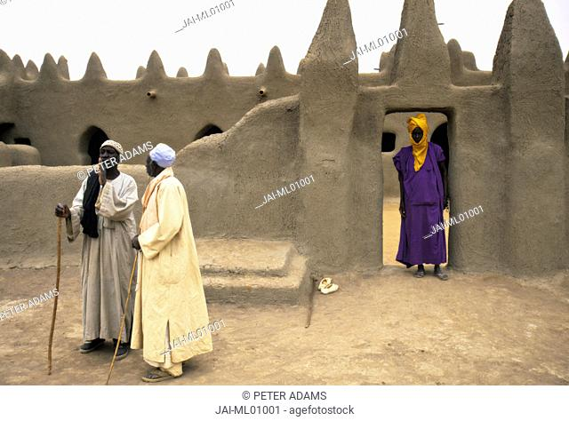 Mosque at Sennissa, Nr Djenne, Mali