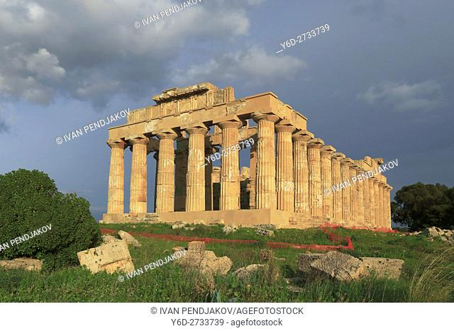 Temple of Hera, Selinunte, Sicily, Italy