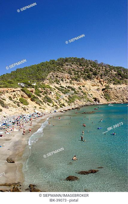Cala de Boix near Santa Eularia des Riu on Ibiza
