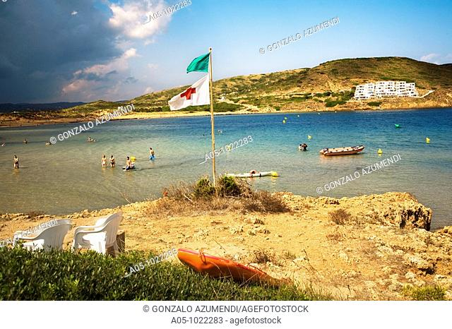 Cala Tirant. Minorca. Balearic Islands. Spain