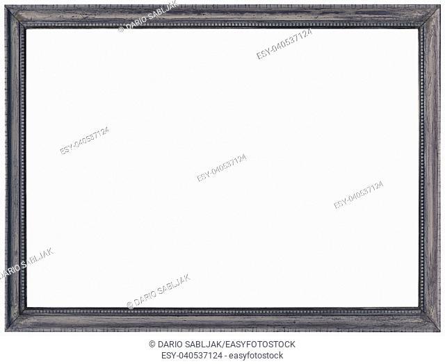 Grey Photo Image Frame Cutout