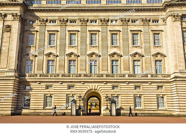 Buckingham Palace, City of Westminster, London, England, UK, United Kingdom, Europe