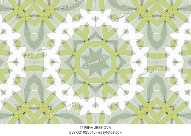 abstract kaleidoscopic colorful pattern