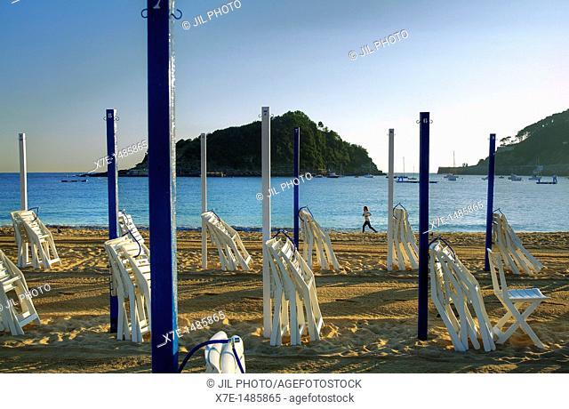 Ondarreta beach  La Concha Bay  Donostia-San Sebastian  European Capital of Culture 2016