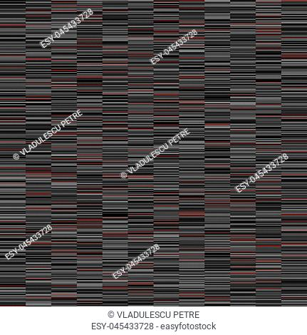 horizontal gray and red lines