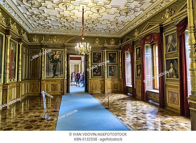 Schwerin Palace interior, Schweriner Schloss, Schwerin, Mecklenburg-Vorpommern, Germany