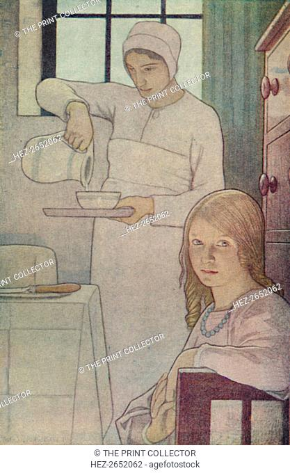 'Lois and Her Nurse. From 'A Book of Quaker Saints.' (L. V. Hodgkin.)', 1923. IA Book of Quaker Saints, was written for the instruction of Quaker children