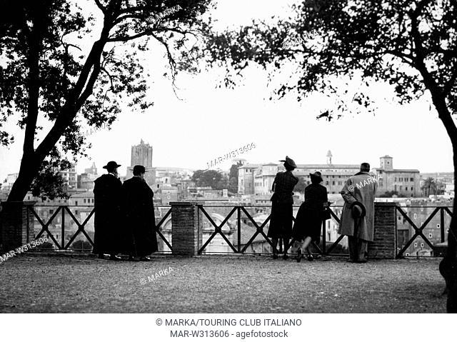roma, vista dal palatino, 1930-40 // Rome, seen from the Palatine Hill, 1930-40
