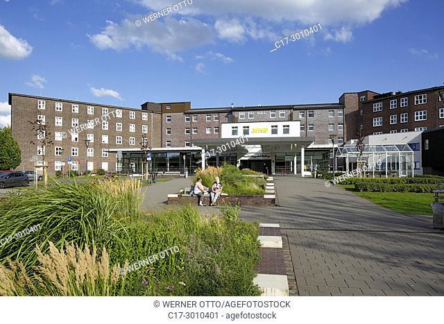 Bottrop, D-Bottrop, Ruhr area, Westphalia, North Rhine-Westphalia, NRW, MHB, Marienhospital Bottrop, clinic, academic teaching hospital of the university...