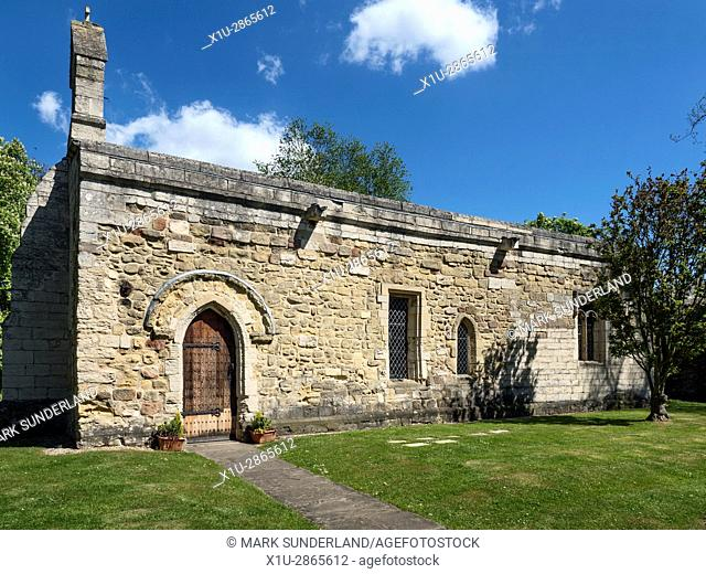 The Leper Chapel or Chapel of the Hospital of St Mary Magdalen Founded 1117 in Ripon North Yorkshire England