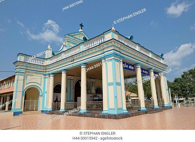 Sri Lanka, region of Mannar, Asia, Madhu Church