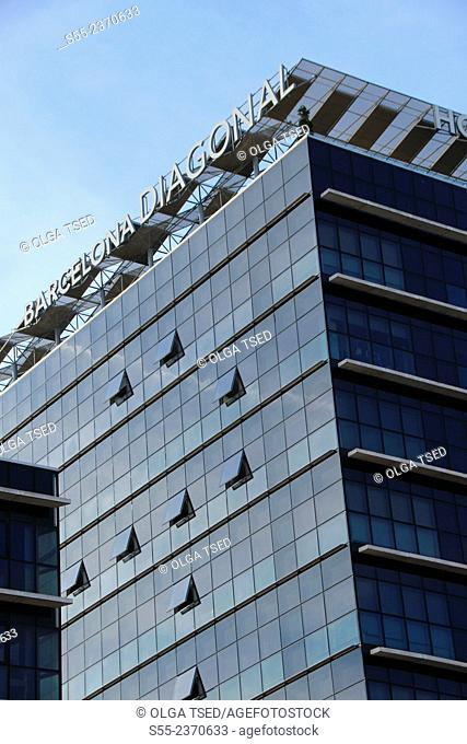 Barcelona Diagonal 4 stars hotel situated at av.Diagonal 205 next to torre Agbar. Barcelona, Catalonia, Spain