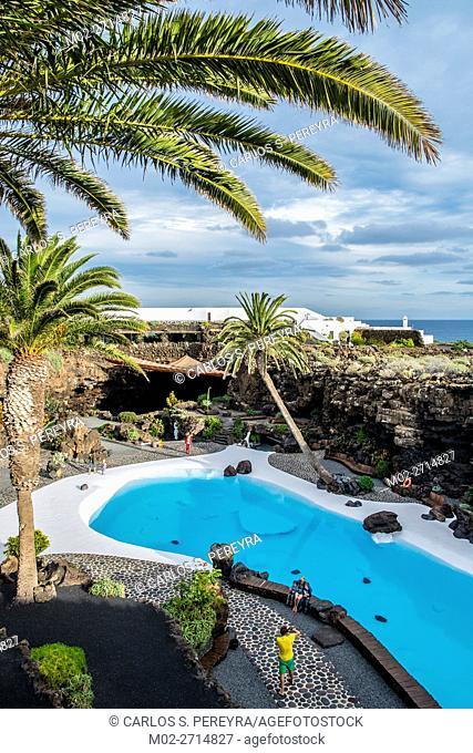 Jameos del Agua by Cesar Manrique in Lanzarote, Canary Islands, Spain
