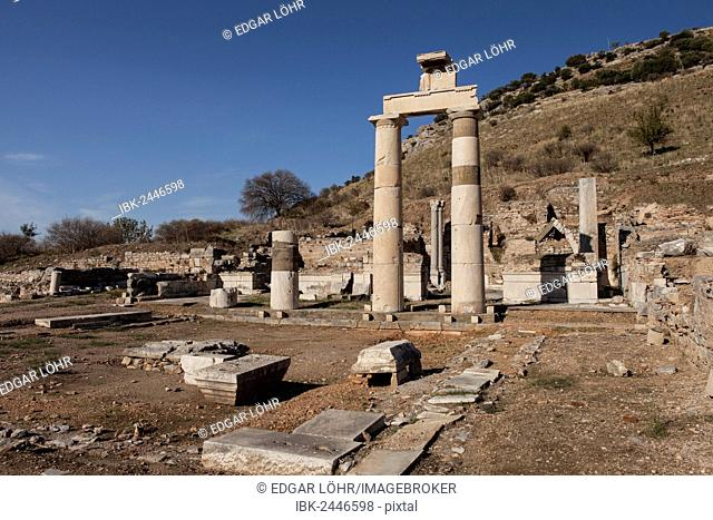 Ruins of ancient Ephesus, Selcuk, Turkey