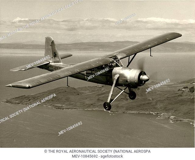The first Scottish Aviation Pioneer 2, G-AKBF