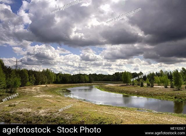 The Doorbraak is a newly dug stream in the Dutch region Twente between the Bornse Beek and the river Regge