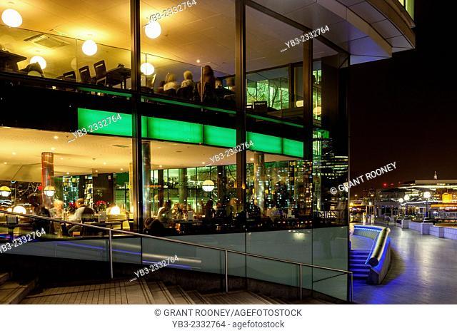 Restaurant, More London Riverside Development, London, England