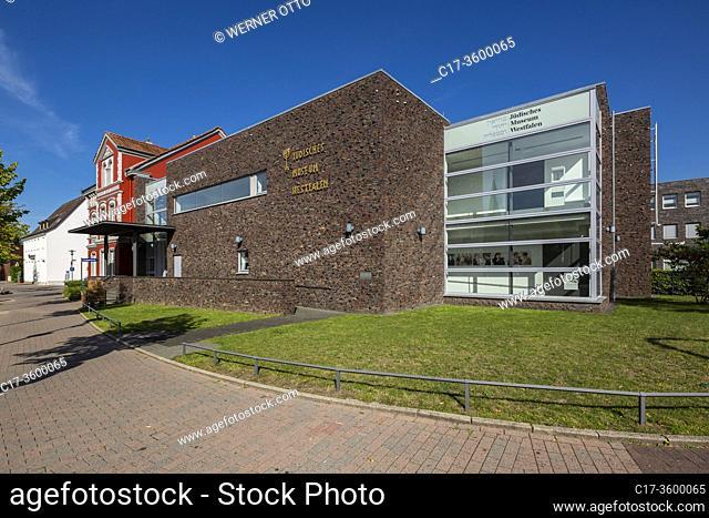 Dorsten, D-Dorsten, Lippe, Ruhr area, Hohe Mark Westmuensterland Nature Park, Muensterland, Westphalia, North Rhine-Westphalia, NRW, Jewish Museum Westphalia