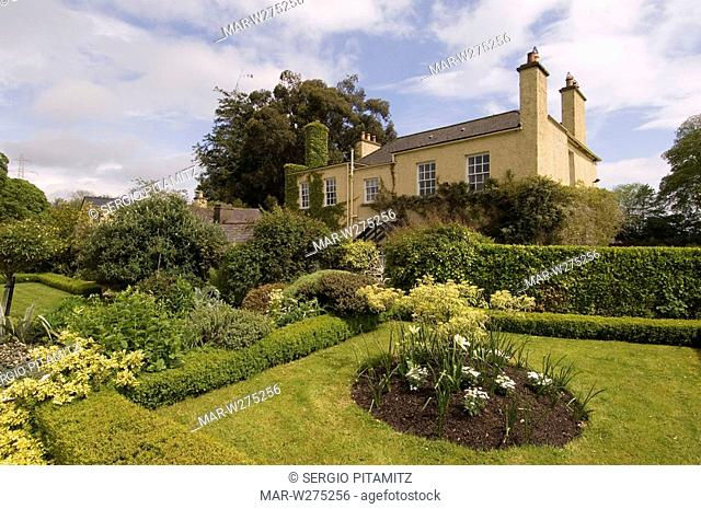 Dover House and Gardens, Rossanagh, County Wicklow, Ireland