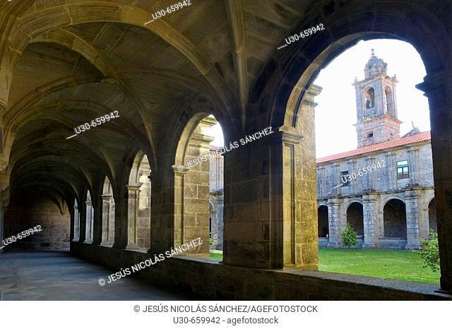 Monastery of Armenteira. Meis, Pontevedra province, Galicia, Spain