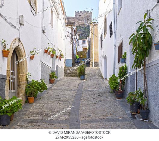 Typical Houses. Alburquerque. Badajoz. Extremadura. Spain
