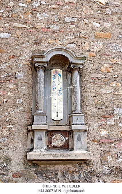 Rue Louis Favez, Evangelisch Reformierte Kirche Leysin, Wetterstation