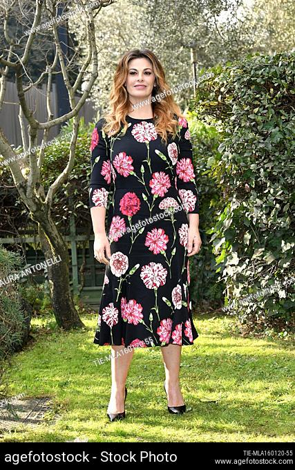 Vanessa Incontrada during the photocall of tv fiction ' Come una madre ' (Like a mother) Rome, ITALY-16-01-2020