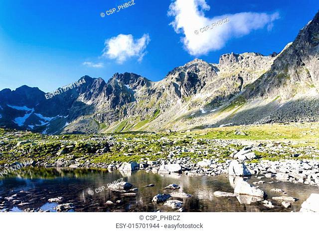 Mengusovska Valley, Vysoke Tatry (High Tatras), Slovakia