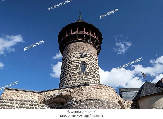 Ulrepforte (city gate) of the city fortification, Cologne, North Rhine-Westphalia, Germany