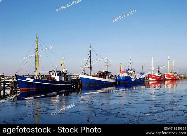 Fischerboote am Alten Strom