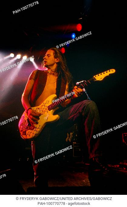"""""""""""Alice in Chains"""", amerikanische Grungeband, bei einem Konzert in München, Deutschland 1993. American grunge band """"Alice in Chains"""" performing live at..."