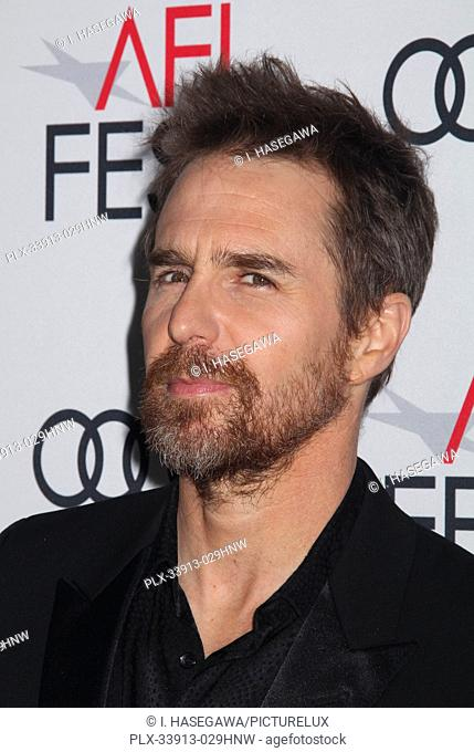 """Sam Rockwell 11/20/2019 AFI Fest 2019 Gala Screening """"""""Richard Jewell"""""""" held at the TCL Chinese Theater in Los Angeles, CA. Photo by I"""