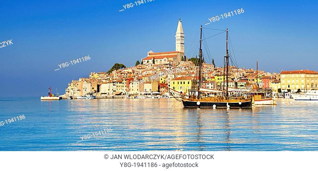 Croatia - Rovinj Old Town, Istria, Croatia