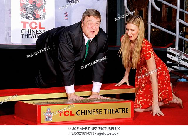 John Goodman at the handprint and footprint ceremony honoring him in cement at TCL Chinese Theatre in Hollywood, CA, November 14, 2013