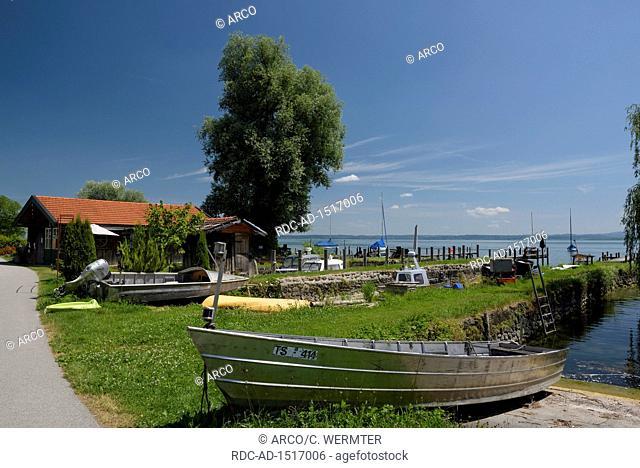 Fraueninsel, july, Lake Chiemsee, Bavaria, Germany