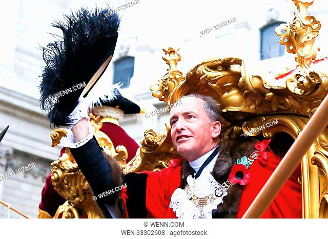 The Lord Mayor's Show outside St Paul's Cathedral Featuring: Charles Bowman Where: St Pauls Cathedral, London, United Kingdom When: 11 Nov 2017 Credit: WENN