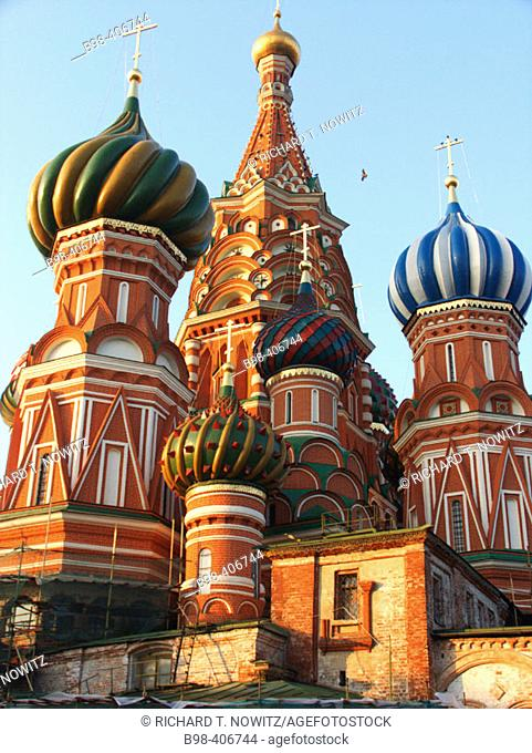 Moscow, Russia, Red Square, Saint Basil's Cathedral