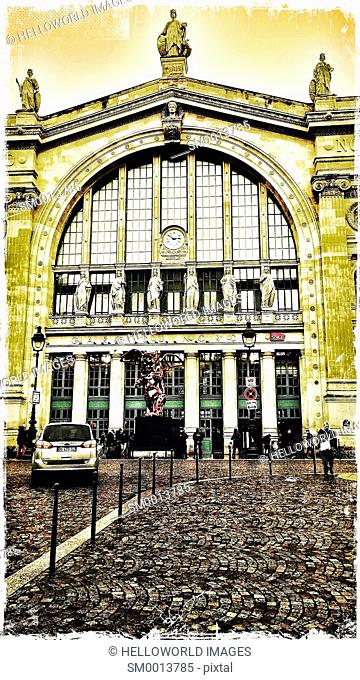 Gare du Nord train station, 10th arrondissement, Paris, France, Europe