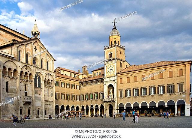 Palazzo Comunale in Modena, Italy, Emilia Romagna, Modena