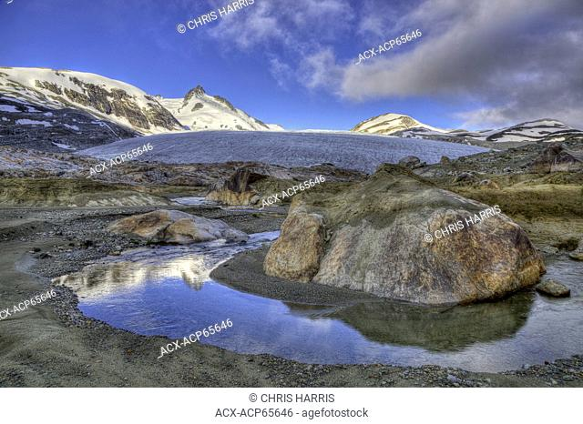 Glacier, Chilcotin, Coast Mountains, British Columbia, Canada