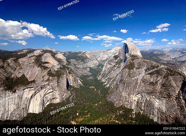 Yosemite Nationalpark - Glacier Point